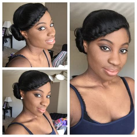 simple hairstyles for relaxed hair 258 best images about relaxed hairstyles on pinterest