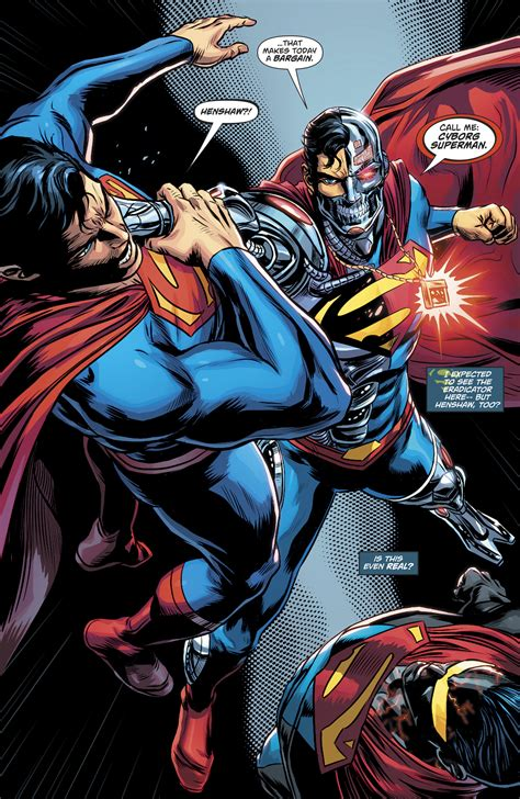 Superman Rebirth Dc Comic dc comics rebirth superman reborn aftermath spoilers comics 980 vs squad 19