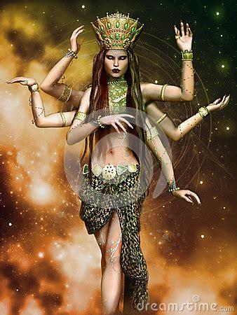 fantasy goddess   arms stock illustration image