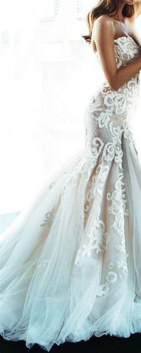netted wedding dresses sleeveless wedding gown made of netted fabric 2036312