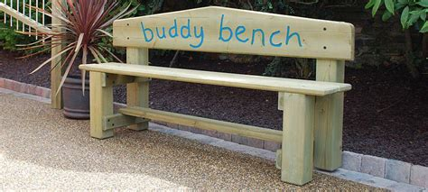 what is a buddy bench seating benches o rourke playscapes playground