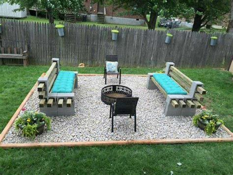 cheap pit seating ideas 22 backyard pit ideas with cozy seating area