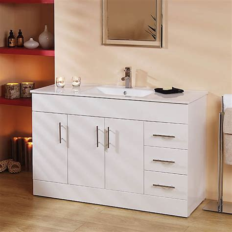 best price bathroom vanity units aspen 120cm vanity unit