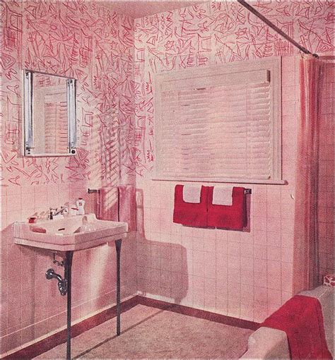 robert s pink and black bathroom makeover retro renovation 176 best the vintage bathroom images on pinterest