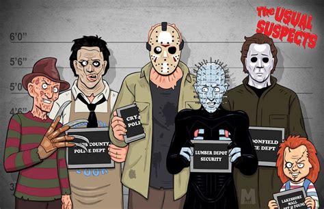 imagenes de freddy krueger chucky halloween jason 365 days of horror