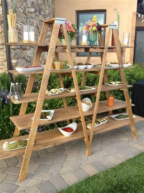 12 up cycled ladder shelves display ideas diy to make
