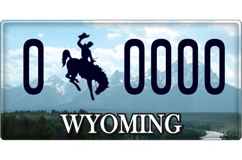 Wyoming Vanity Plates by Auto Dealer License 2017 2018 Best Cars Reviews