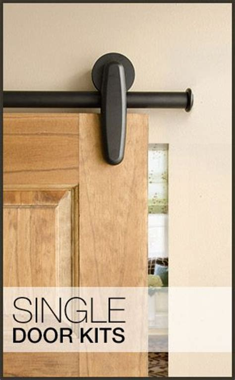 Door Design Door Kits And Barn Doors On Pinterest Rolling Closet Door Hardware