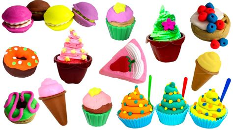 play food cutting food kitchen playset play food cakes desserts