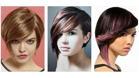 cortes de pelo para cabello corto cortes de pelo corto con flequillo youtube