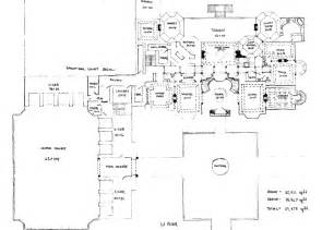 Mansion Blueprints Floor Plans To Mega Mansion Design Homes Of The Rich