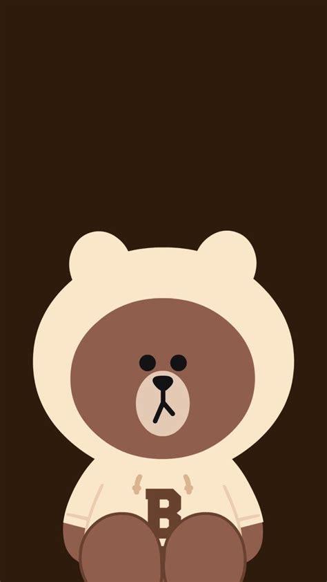 pin oleh bee bream  brown  friend beruang coklat