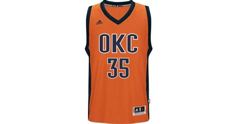 Jual Jersey Futsallusinan Adidas Orange lyst adidas originals s kevin durant oklahoma city thunder new swingman jersey in orange