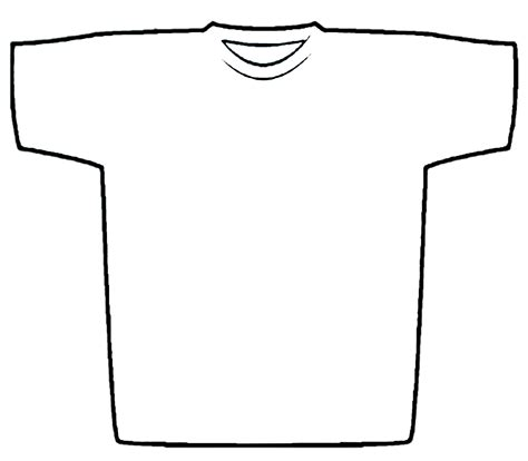 clipart t shirt outline clipart best
