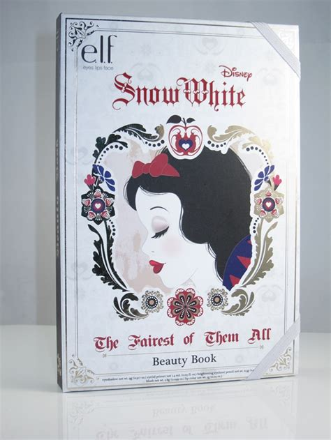 Book Review The Make Up By Andrea Semple by E L F Snow White Book Palette Review Swatches