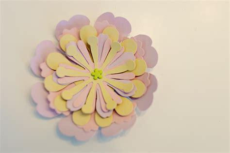 flat paper flower tutorial paper flowers tutorial
