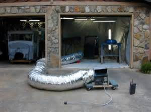 Garage Paint Booth Design Homemade Garage Paint Booth