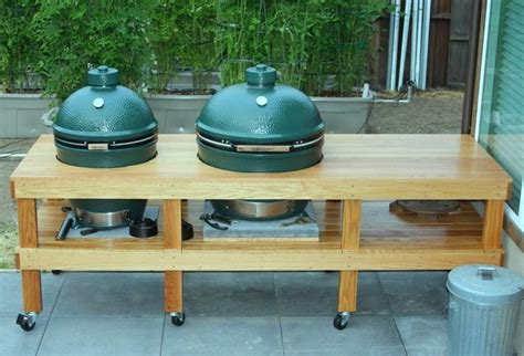 big green egg kitchen outdoor kitchen plans big green egg 300 project