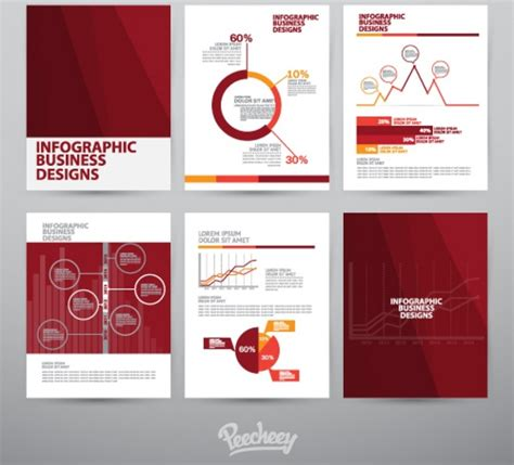 brochure template free vector in adobe illustrator ai