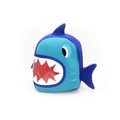 Sozzy Animal Backpack Tas Anak Anak jual tas lino backpack shark style blue tas anak