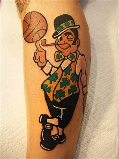boston celtics tattoos markus anacki custom tattooing