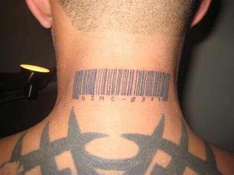 marine corps order on tattoos usmc tattoos on neck back