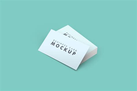 business card mockup template clean business card mockup pixlov