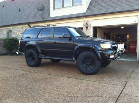Toyota 4runner Blacked Out Find Used 2001 Toyota 4runner Sr5 4x4 Lifted Blacked Out