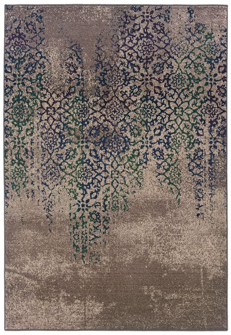 Oriental Weavers Kaleidoscope 504d Modern Area Rug Area Rugs For