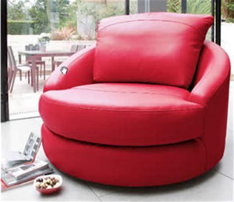 Retro Swivel Armchair Buy Red Swivel Loveseat Snuggler In Faux Leather