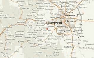 evergreen colorado map evergreen colorado location guide