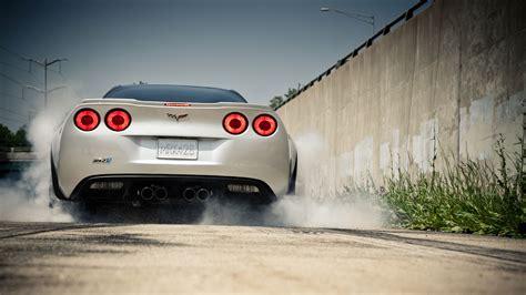 corvette zr1 burnout chevrolet corvette zr1 burnout smoke c6 wallpaper