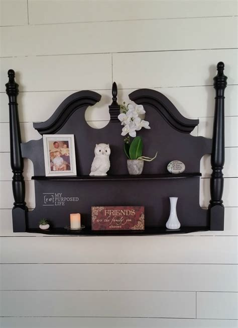 How To Make A Headboard With Shelves by How To Repurpose Headboards Into Creative New Projects