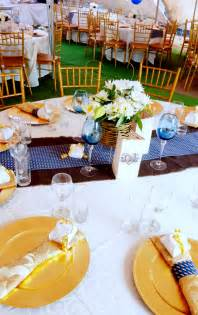 wedding traditional decor gold and royal blue traditional wedding decor at shonga
