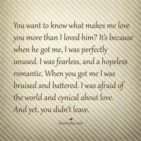Enjoy More Than by What Makes Me You Relationships Boyfriend Quotes