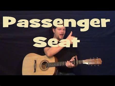Guitar Tutorial Of Passenger Seat | passenger seat stephen speaks easy strum guitar lesson