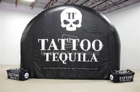 tattoo tequila logo tattoo tequila inflatable tent