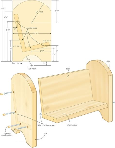 woodworking plans book child s book stand canadian home workshop