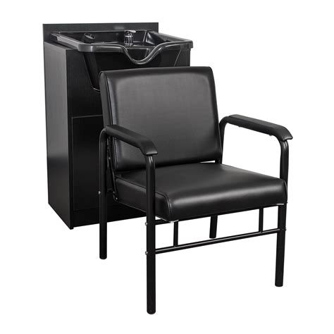 salon sink and station combo shoo bowl cabinet with auto recline chair package