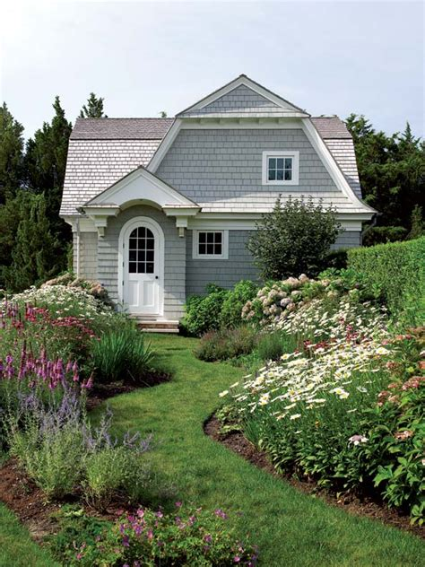 cottage house exterior charming cozy gambrel cottage old house online old