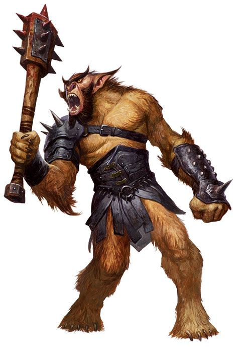 printable heroes demogorgon bugbear 5e 187 dungeons dragons d d 5
