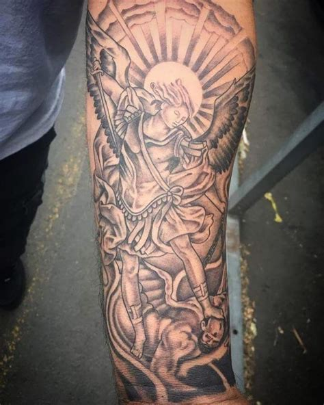 saint tattoos 95 best michael tattoos designs meanings 2018