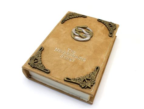 Handmade Decorative - the neverending story book jewelry box decorative box