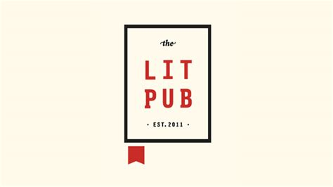 Publisher Logo Templates new logo for the lit pub by fuzzco bp o