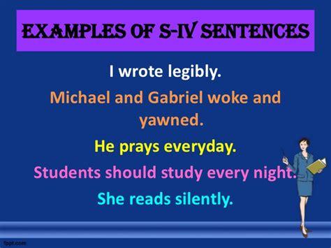 sentence pattern exles s tv do sentence patterns