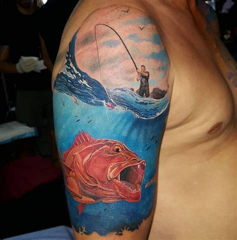 tattoo pictures fish fishing tattoos designs ideas and meaning tattoos for you