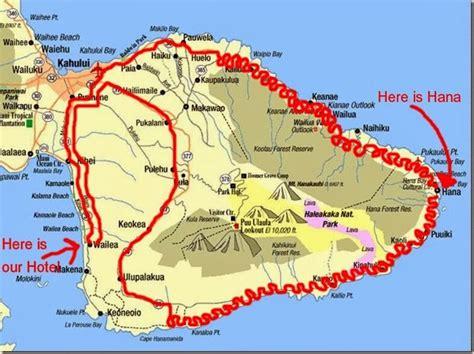 printable road to hana map roby on the road la road to hana