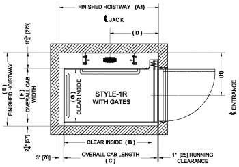 Small Home Elevator Size Cab Configurations Elvoron Home Elevator Garaventapedia