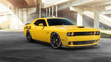 dodge car wallpaper hd velgen yellow dodge srt hellcat 5k wallpaper hd car