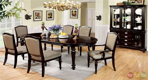 Dining Room Set With Matching Buffet Harrington Walnut Formal Dining Set With